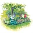 Moto Rezervation - иконка «сад» в Рудне